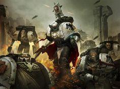 Warhammer 40k artwork : Photo