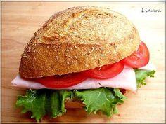Limara péksége: Tönkölyös szendvicszsemlék Izu, Bread Rolls, Bread Recipes, Bakery, Food And Drink, Chicken, Cooking, Ethnic Recipes