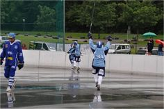 Veen supported Finnish Team Peräpohjolan Poropojat at the 2012 Euro Cup Street Hockey recently in August