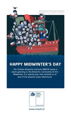 """INACH on Twitter: """"HAPPY MIDWINTER´S DAY #antarctica #midwinter #happymidwintersday https://t.co/P0gFh1BZtE"""""""