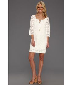 Trina Turk Amplify Dress Whitewash - Zappos.com Free Shipping BOTH Ways
