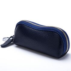 2015 New Women Men's Cowhide Leather Zipper Purse Bag Car Key Wallets Fashion Multifunction Housekeeper Holders Free Shipping ** You can get more details by clicking on the image.