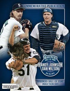 Randy Johnson & Dan Wilson Seattle Mariners, Dan, Baseball Cards, Sweet, Sports, Candy, Hs Sports, Sport