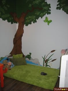 Montessori Inspired Kids' Rooms - very cute and pretty simple ideas :)