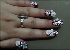 Indian Bridal Manicure Tutorial