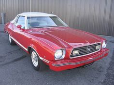 1977 FORD MUSTANG II CONVERTIBLE