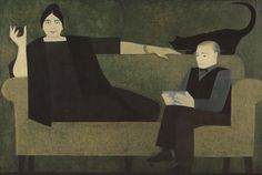 Kiesler and Wife | Will Barnet