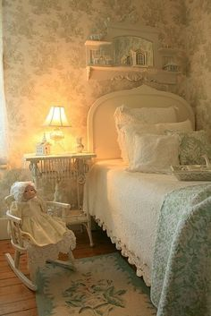 My happy place Shabby chic,bedroom, Cottage Style, Home, Cottage Decor, Chic Decor, Cheap Home Decor, Dreamy Bedrooms, Little Girl Rooms, Chic Bedroom, Shabby Chic Bedrooms