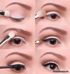Eye make-up inspiration from Marilyn Monroe. (It's her birthday today.) Via Eye make-up inspiration from Marilyn Monroe. (It's her birthday today. Beauty Make-up, Beauty Hacks, Hair Beauty, Beauty Tips, Beauty Products, Asian Beauty, Diy Makeup, Makeup Tips, Makeup Tutorials