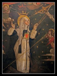 "Catherine of Siena - Dr. Chartres, Anglican Bishop of London, quoted her at royal wedding: ""Be who God meant you to be and you will set the world on fire"" St Catherine Of Siena, Sainte Catherine, Rome, Saint Dominic, Saints Days, Religion, Divine Grace, Mama Mary, Pope John Paul Ii"