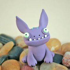 monsters from modelling clay