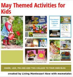 Blog post at LivingMontessoriNow.com :            Updated for May 2014 (For a list with changing dates merged with the monthly list, see my May 2014 Calendar Observances and Ac[..]