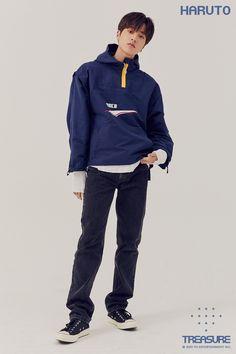 editorial vol 4 Yoshi, Nike Jacket, Rain Jacket, Bomber Jacket, Lirik Lagu Treasure, K Pop, Sacs Louis Vuiton, Yg Entertaiment, Wattpad