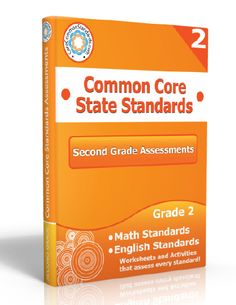 Description: Second Grade Assessment Workbook, 2nd Grade Assessment Workbook, Second Grade Common Core Assessment Workbook, 2nd Grade Common...