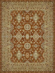 Alexander Home Hand-tufted Aara Orange Wool Rug, Rug Direct, Loloi Rugs, Oriental Wool Rugs, Oriental Pattern, Buying Rugs Online, Home Decor, Rugs, French Country Rug, Area Rugs