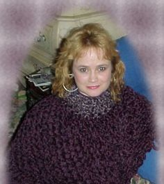 Elegant Chenille Poncho « The Yarn Box