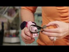 Charlene shows some fun zipper crafting -- make your own dragonfly pin or embellishment :)