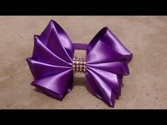 Como fazer laço mil faces Diy ,Tutorial ,Pap By Iris Lima How To Make a Hair Bow - YouTube
