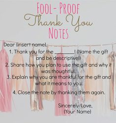 Dont know where to start with your handwritten thank you card cottons pickins fool proof thank you notes feat expocarfo