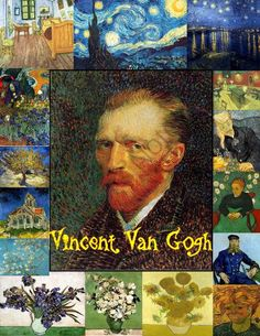 Vincent van Gogh for Kids from SmartKidsWorksheets on TeachersNotebook.com -  (34 pages)  - Learn about the famous painter, Vincent van Gogh!