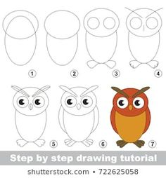 Kid game to develop drawing skill with easy gaming level for preschool kids, drawing educational tutorial for Filin Drawing Lessons For Kids, Drawing Tutorials For Kids, Drawing For Beginners, Drawing Skills, Art Lessons, Easy Drawing Tutorial, Drawing Ideas, Easy Drawings For Kids, Art For Kids