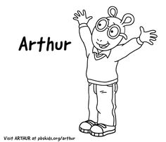 Coloring Page . Arthur Birthday Party . PBS Parents ...