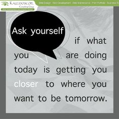 Ask yourself..