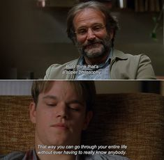 Good Will Hunting Best Quotes - Even more profound today nearly two decades later. Itll be some kid from. Good Will Hunting 1997 Sean But I Think That S A Super Robin williams is sub. Tv Show Quotes, Film Quotes, Famous Movie Quotes, Pretty Words, Cool Words, Good Will Hunting Quotes, Robin Williams Quotes, Citations Film, Movie Dialogues