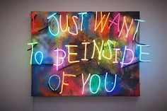 Olivia Steele.Neon Art//Neon LOVE!!!