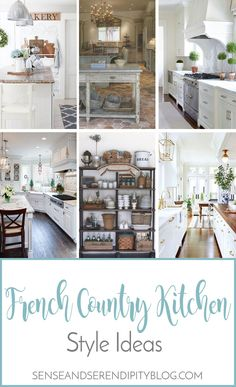Creating a French country kitchen has never been easier! Check out my shopping guide to find all you need to get this look! Creating a French country kitchen has never been easier! Check out my shopping guide to find all you need to get this look! French Country Rug, French Country Kitchens, French Country Bedrooms, Country Farmhouse Decor, French Cottage, French Country Decorating, Country Bathrooms, French Style, French Decor