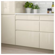 VOXTORP Drawer front, high gloss light beige, VOXTORP is a smooth, high-gloss drawer front with integrated handles. It brings clean lines and an open, modern look to your kitchen. Ikea Ringhult, Kitchen Styling, Kitchen Decor, Kitchen Ideas, Kitchen Layouts, Kitchen Stuff, Kitchen Designs, Beige Kitchen, Rustic Country Kitchens