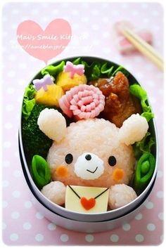 バレンタインに♡うさぎちゃん*キャラ弁