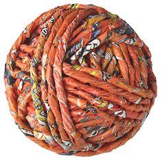 paper yarn - zero impact global art by ivano vitali