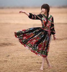 Flower land Great Hem Dress