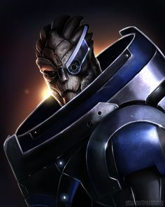 Garrus by *MattiasFahlberg on deviantART