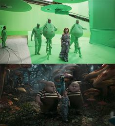Movie Scenes Before-And-After Special Effects