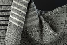 NUNO Corporation, Japan creates innovative textiles combining traditional aesthetics with the latest computer and synthetics technologies.