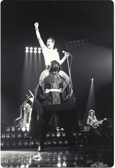 Just Fred Mercury being awesome
