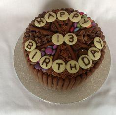 Chocoholics birthday cake........! x