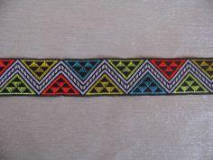 Galon jacquard Incas