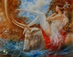 The rape of Europa by Stanislavas Sugintas