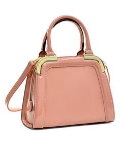 Love this Pink Jensenka Mini Satchel on #zulily! #zulilyfinds