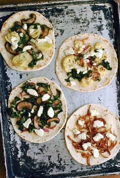 Simple, Seasonal Flatbread Pizzas // Babble #spon