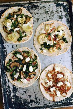 Simple, Seasonal Flatbread Pizzas