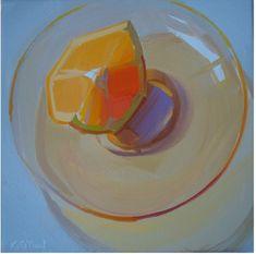 clean, fresh, fruit, sunlight, orange, glass, transparent, reflection, strong, bold, vibrant, square, shadows, kitchen, food