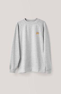 Leroy Isoli Sweatshirt, Croissant, Paloma Melange, x-small
