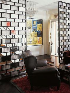 Glass Bricks | Foyer Design | Room Dividers | Decorative Screens | Partitions
