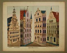 No. 2059. (Seiten=Coulissen). Stadt=Decoration. [Neue Ausgabe]