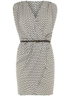 Monochrome crossover dress - View all Clothing Brands  - Clothing