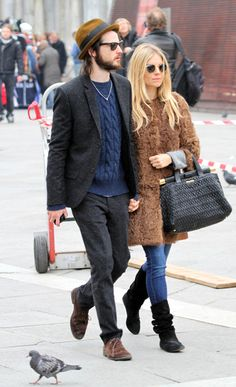 The queen of boho style = Sienna Miller